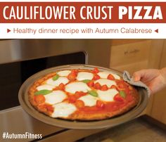 cauliflower crust pizza // autumn fitness // #21DayFixApproved