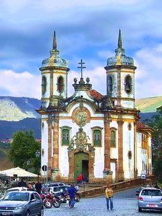 Ouro Preto, Minas Gerais. #Brazil