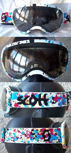 b02317eb038 Other Winter Sports 1303   120 Rare Scott Mens Off Grid White Snow Winter  Ski Goggles Smith Blue Red Pink -  BUY IT NOW ONLY   59 on eBay!