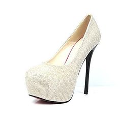 Sparkling Glitter Women's Shoes Wedding Stiletto Heel  Pumps With Sequin    Women's Party Shoes – USD $ 27.99