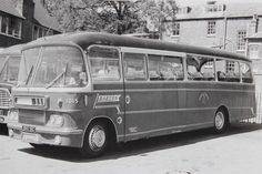 Barton Transport fleet no.1015. This vehicle was a Harrington 'Crusader' bodied Bedford SB5 and was pictured whilst operating a South Coast tour