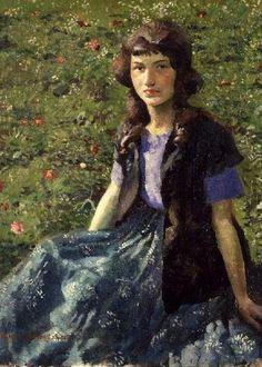 A Gypsy Girl, Harold Harvey