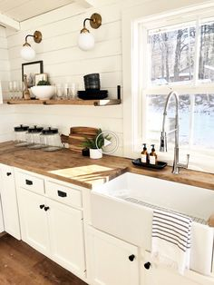 23 Small Kitchen Renovation Reveal – Home Renovation Small Cabin Kitchens, Small Kitchen Renovations, Home Kitchens, Kitchen Remodel, Small Cottage Kitchen, Small House Renovation, Farm Cottage, Home Decor Kitchen, Home Decor Bedroom