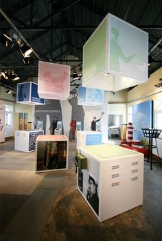Lighthouse Stories, Smith And Jones Design Consultants. (Museum designers and Interpretive exhibition design specialists working in the museum and heritage sectors). Museum Exhibition Design, Exhibition Display, Exhibition Space, Design Museum, Display Design, Booth Design, Store Design, Signage Display, Signage Design