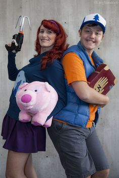 https://flic.kr/p/A5V2Qr | Mable Pines & Dipper Pines | 10th Annual New York Comic Con @ Jacob K. Javits Center (Oct. 11th, 2015)  Series: Gravity Falls Characters: Mable Pines & Dipper Pines Cosplayers: Leslie Aufieri & Matt Aufieri Photographer: Knightmare6  Web Site ||| Facebook ||| Instagram ||| Twitter ||| DeviantArt Tumblr ||| Model Mayhem ||| FormSpring ||| Myspace ||| Blog