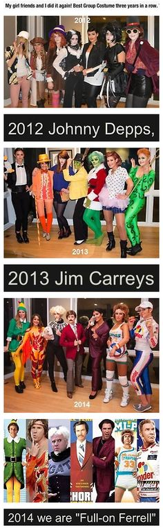 Best Group Costumes EVER!!!