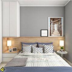 Ideas for bedroom loft design sleep Bedroom Bed Design, Modern Bedroom Design, Small Room Bedroom, Bedroom Loft, Home Bedroom, Interior Design Living Room, Diy Bedroom Decor, Home Decor, Decor Room