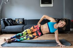 Flacher Bauch - 16 Tipps zum Bauchfett reduzieren ink Übungen für Zuhause