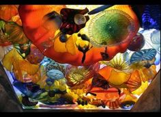Dale Chihuly Glass sculptures....WOW!