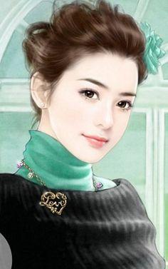 . - ✯ http://www.pinterest.com/PinFantasy/arte-~-la-mujer-en-el-arte-chino-women-in-chinese-/