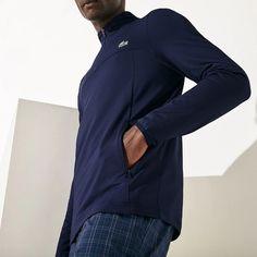 Sweatshirt à col zippé Golf Lacoste SPORT stretch - Sweatshirt homme Lacoste - Iziva.com Sweatshirt Homme, Lacoste Sport, Golf, Athletic, Sweatshirts, Sports, Jackets, Fashion, Hs Sports