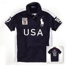 Newest Ralph Lauren Big Pony USA Symbol Flag Navy Sporty Polo is on 70% off, lowest price. $34.35