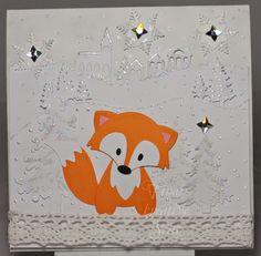 Tinas kreative Seite: Schnee-Füchslein