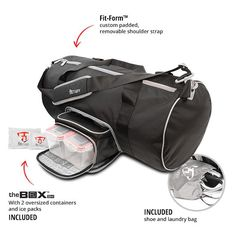 Fitmark Transporter Duffel - Roni Taylor Fit
