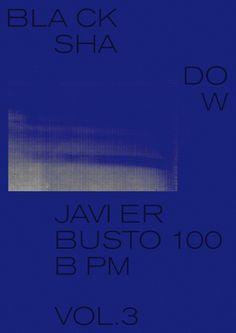 Poster for Javier Busto 100 bpm, vol. 3.