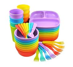 Replay Recycled Dishware for Kids love this stuff. I need to get the cups.