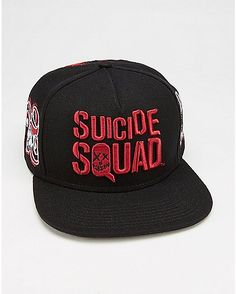 d4788411ce3 Property Of Joker Suicide Squad Snapback Hat - Spencer s