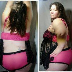 4804a1e97adee OOAK Plus size lingerie Exotic 4x bikini top and panties boudoir nightie set   sexy underwear set size 28 30 sleepwear