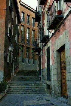Calle del Rollo. Madrid.
