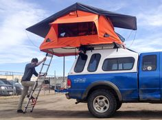 Rooftop tents, which sit on your car or truck, are part tent camping, part RV camping, and totally awesome.