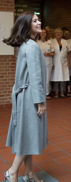 Crown Princess Mary of Denmarkattends the opening of the International School of Aarhus Academy for Global Education in Aarhus 2015-09-16