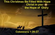 God Morning from Trinity, TX  Today is Sunday December 18, 2016   Day 353 on the 2016 Journey   Make It A Great Day, Everyday!   This Christmas Be Filled with Hope  Today's Scriptures: Colossians 1:26-27 https://www.biblegateway.com/passage/?search=Colossians+1%3A26-27&version=NKJV The mystery which has been hidden from ages and from generations, but now has been revealed to His saints... Inspirational Song  https://youtu.be/q8mE8PalG00
