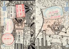 """""""Got a valid passport? Have it transformed into an intricately inked work of art"""""""