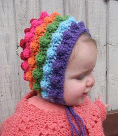 Girls Bonnet 9 - 12 months £7.50