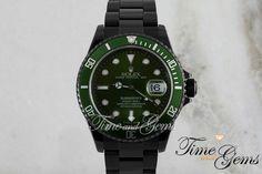 Black / Green Submariner