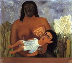 Image result for frida kahlo breastfeeding