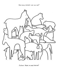 Eric Ellis How Many Animals Can You See Jpg