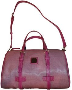 Women's Dooney and Bourke Purse Handbag Barrel Satchel Pink Dooney & Bourke, http://www.amazon.co.uk/dp/B007DJLOB0/ref=cm_sw_r_pi_dp_GvvOqb0WQVKCR