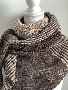 Ravelry: soulanna's Lens Flare Shawl Test Knit