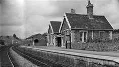 1963 Bitton Railway Station, South Gloucestershire