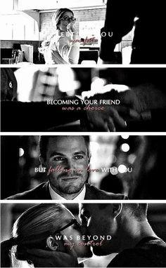 """#Arrow: """" #FelicitySmoak? Hi, I'm #OliverQueen. """""""