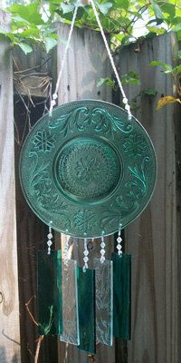 Green Tiara Windchimes