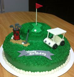 Birthday Cake Tema Golf Image Inspiration of Cake and Birthday