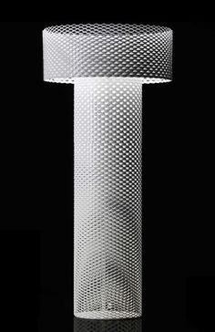 @FastCoDesign I love the expanded metal in this floor lamp. An abrasive material turned soft and subtle.