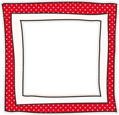 Printable menu border with a red and white gingham pattern. Free ...
