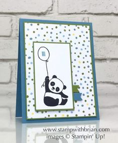Party Pandas for Baby | Stamp with Brian | Bloglovin'