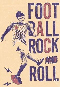 Football rock'n'roll. George Best.