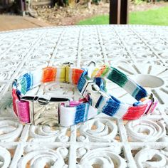 Every dog collar is made to order. cotton fabric and beautiful design!