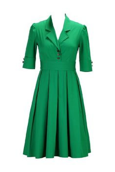 eShakti Women's Retro poplin shirtdress XS-0 Regular Jade green eShakti http://www.amazon.com/dp/B00JMDPNEE/ref=cm_sw_r_pi_dp_lTVUtb01YW0N4VN3