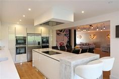 Image result for house with gym studham Kitchen Island, Gym, Living Room, House, Image, Home Decor, Island Kitchen, Decoration Home, Home