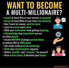 How To Become Rich With No Money? Steps To Becoming A Millionaire. Steps To Becoming A Millionaire. Business Money, Business Planning, Business Tips, Best Business Quotes, Online Business, Bitcoin Miner, Steve Jobs, Libra, Funny Pictures For Kids