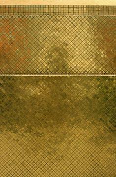 Bisazza, gold mosaico