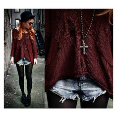 Lua P ❤ liked on Polyvore featuring outfits, pictures, people, lookbook and backgrounds