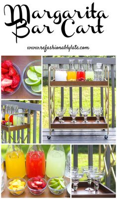 Margarita Bar Cart w
