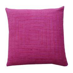 Jiti Pyramind Matka Silk Throw Pillow & Reviews | Wayfair