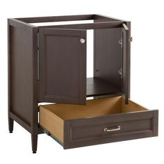 Pace murano series 24 x 21 vanity with drawers on right - Home depot bathroom vanities on sale ...
